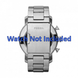 Pulseira de relógio Fossil JR1353 Aço 24mm