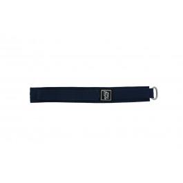 Pulseira de relógio Universal 5883-06-20 Velcro Azul 20mm