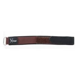 Pulseira de relógio Condor KLITTENBAND 412R bruin (donker) Velcro Marrom 20mm