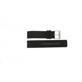 Pulseira de relógio Michael Kors MK8040 / MK8055 Borracha Preto 22mm