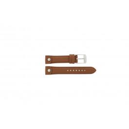 Pulseira de relógio Michael Kors MK2165 Couro Marrom 18mm