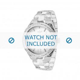 Adidas pulseira de relógio ADH2506 Plástico Branco 22mm