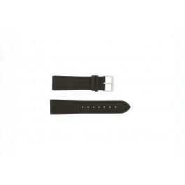 Pulseira de relógio Universal H372 Couro Marrom 22mm