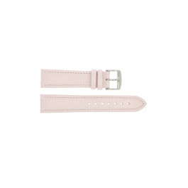 Pulseira de relógio Universal 283R.14 Couro Rosa 18mm