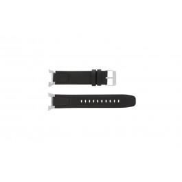 Pulseira de relógio Seiko 7T62-0GW0 / SNAA39P1 Couro Marrom 13mm