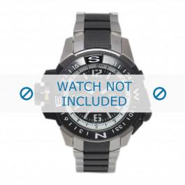 Pulseira de relógio Seiko 7S36-02K0 / SKZ319K1 / 3371NG Aço Multicolorido 22mm