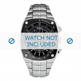 Pulseira de relógio Seiko 7L22-0AD0 / SNL015P1 / 33V1JZ Aço 15mm
