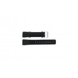 Skagen pulseira de relogio 331XLSLB / 331XLSLC Couro liso Preto 20mm