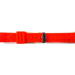 Pulseira de relógio Universal 253 Silicone Vermelho 24mm