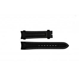 Pulseira de relógio Breil TW0678 Couro Preto 22mm