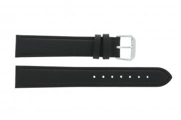 Bracelete em pele genuína preto 10mm 054