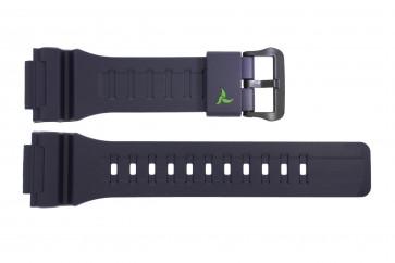 Casio pulseira de relógio 10487314 Plástico Azul escuro 14mm