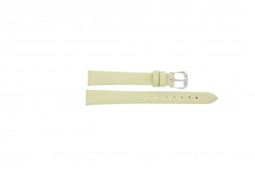 Pulseira de relógio Condor 241R.00 Couro Amarelo 14mm