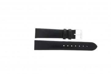 Pulseira de relógio Universal 241R.01 Couro Preto 14mm