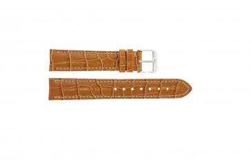 Pulseira de relógio Universal 285R.27 Couro Marrom 22mm