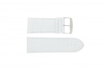 Pulseira de relógio Universal 305R.09 Couro Branco 32mm
