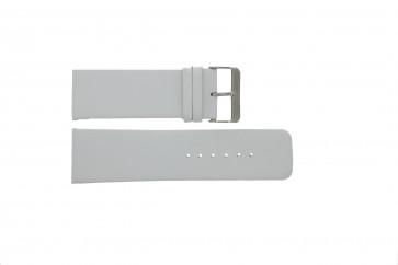 Bracelete em pele genuína em branco 30mm
