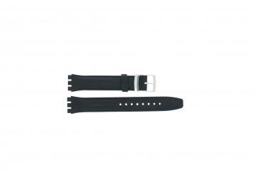 Bracelete apropriada para Swatch azul marinho WP-51643 17mm