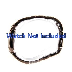 Fossil pulseira de relógio ES-3007 Aço Dourado (Rosé) 16mm