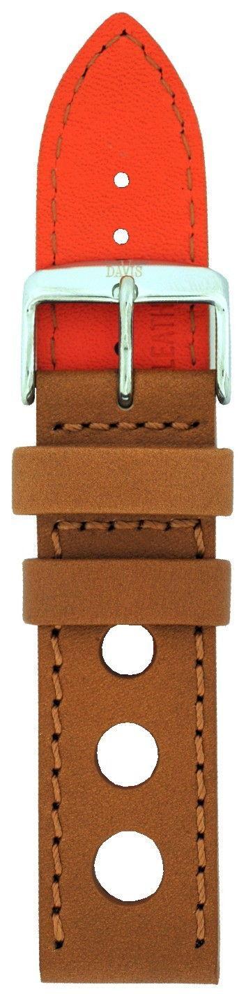 Davis pulseira de relogio com buracos perfurados 22mm B0321