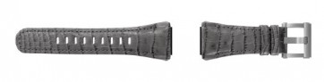 Pulseira de relógio TW Steel CE4002 Couro Cinza 24mm