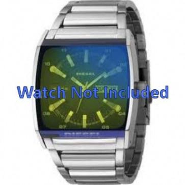 Diesel pulseira de relogio DZ1251 Metal Prata 34mm
