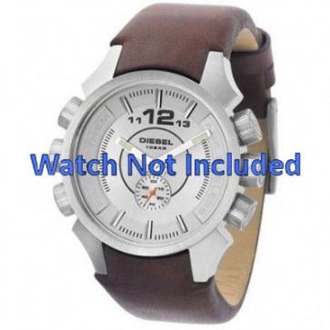 Pulseira de relógio Diesel DZ4120 Couro Marrom 20mm
