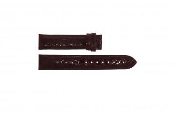 Festina pulseira de relógio F16021/4 Couro Bordeos vermelho 18mm