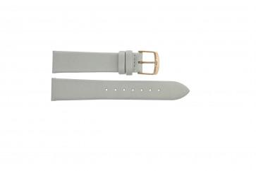 Pulseira de relógio Festina F16944-1 Couro Branco 18mm