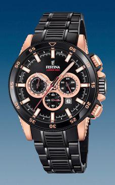 d37e41dac78 Pulseira de relógio Festina F20354-1 Aço Preto 24mm