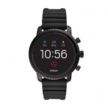 Fossil FTW4018 Q Explorist HR GEN 4 Digital Smartwatch Homens Preto