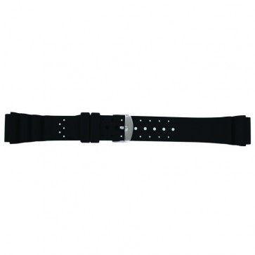 Pulseira de relógio Universal SL100 Silicone Preto 22mm