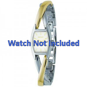 Pulseira de relógio DKNY NY4634 Case / Strap Aço Bicolor 13mm