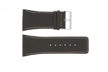 Pulseira de relógio Universal P310 Couro Marrom 38mm