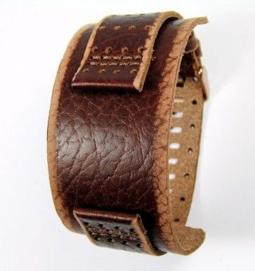 Fossil pulseira de relógio JR9040 Couro Castanho 22mm