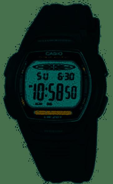 Casio pulseira de relógio 10177113 Plástico Preto 15mm