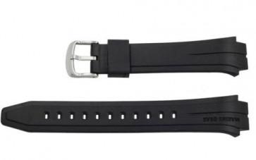 Casio pulseira de relógio 10271029 Marine Gear Aço Prata 26mm