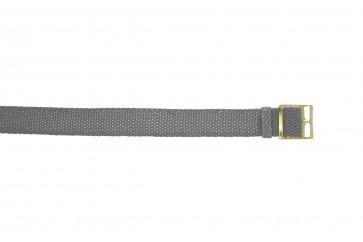 Bracelete Perlon em cinzento 20mm