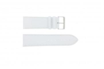 Pulseira de relógio Universal 306.09 Couro Branco 26mm