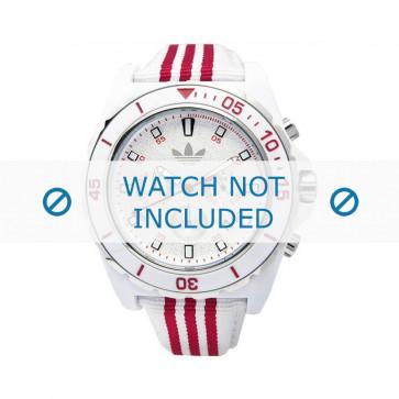Adidas pulseira de relógio ADH2666 Silicone Branco 24mm