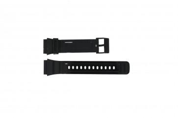 Adidas pulseira de relogio ADH6092 Borracha Preto 22mm