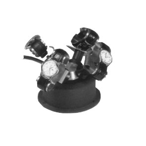 Enrolador para relógios automáticos - Adequado para 4 relógios - Preto