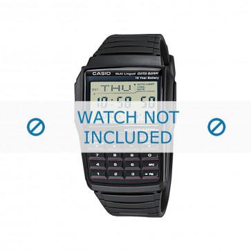 Pulseira de relógio Casio DBC-321-AES / DBC-32-1A / 10169264 Plástico Preto 22mm
