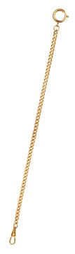 Relógio de bolso colar de casal (ouro)