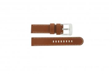 Danish Design pulseira de relógio IQ12Q711 / IQ12Q888 Couro Castanho 20mm