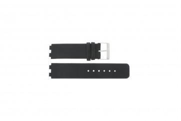 Danish Design pulseira de relógio IQ13Q523 / IQ12Q523 Couro Preto 16mm