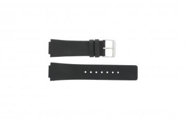 Danish Design pulseira de relogio IQ13Q1007 / IQ12Q884 / IQ12Q1007 Couro Preto 16mm