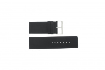 Davis pulseira de relógio BB0330 Couro Preto 30mm