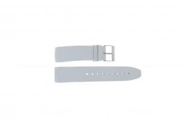 Davis pulseira de relógio BB1544 Couro Branco 22mm