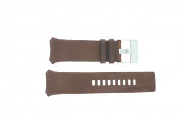 Diesel pulseira de relogio DZ3037 Couro Marrom 32mm